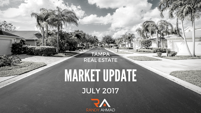 Tampa Real Estate Report July 2017